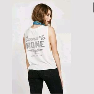 NWT Wildfox Couture T-Shirt Sz L Sworn to None